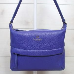 Kate Spade Grant Park Starla Blue Crossbody Bag
